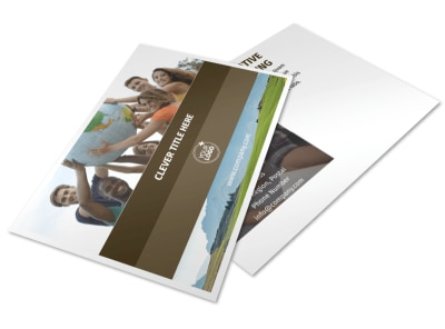 African Mission Trip Postcard Template 2 preview