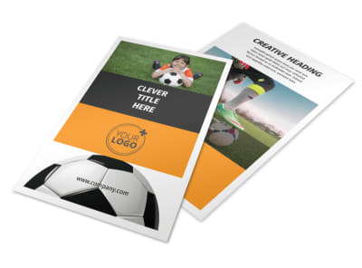 Youth Soccer Flyer Template 3