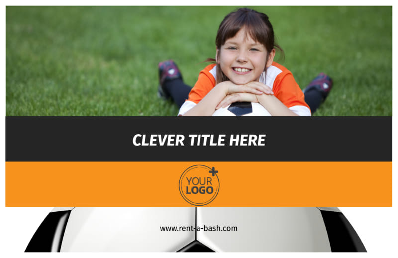 Weekend Soccer Camp Postcard Template Preview 2