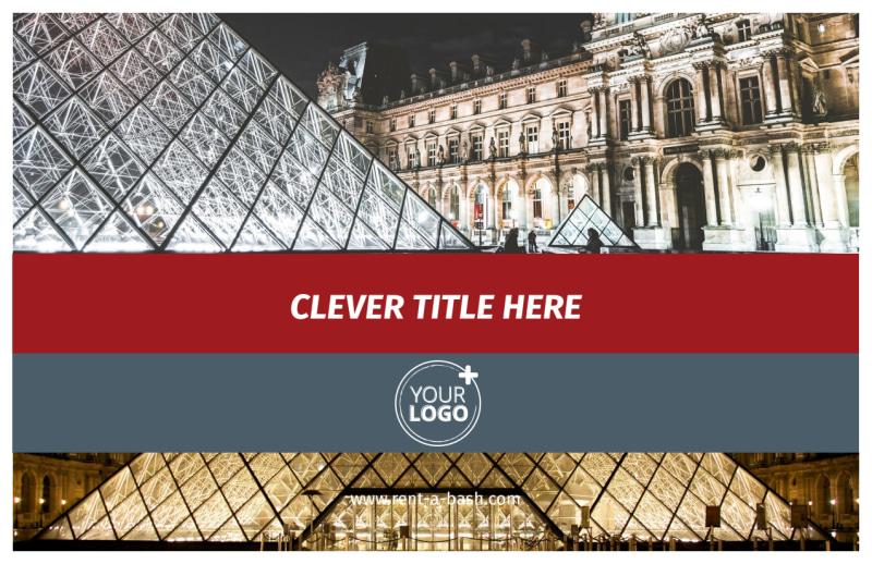 European Art Museum Postcard Template Preview 2