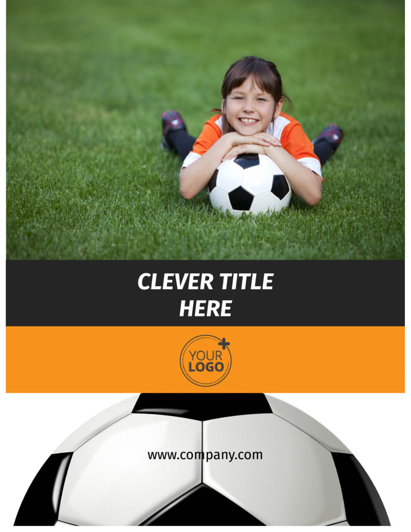 Weekend Soccer Camp Flyer Template Preview 2