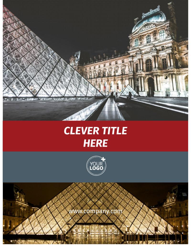 European Art Museum Flyer Template Preview 2