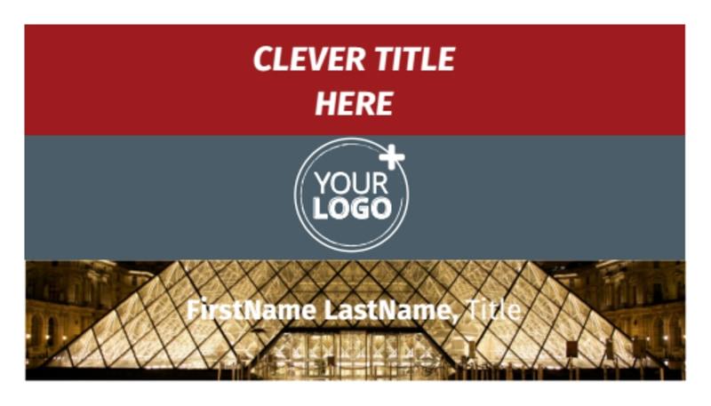 European Art Museum Business Card Template Preview 2
