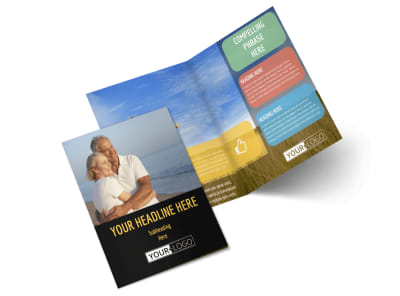 Mental Health Counseling Bi-Fold Brochure Template 2
