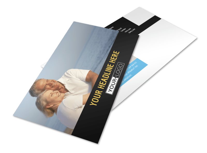 Mental Health Counseling Postcard Template Preview 1