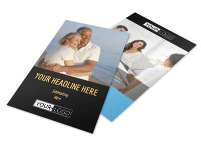 Mental Health Counseling Flyer Template 3