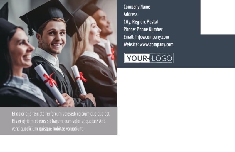 Tech University Postcard Template Preview 3