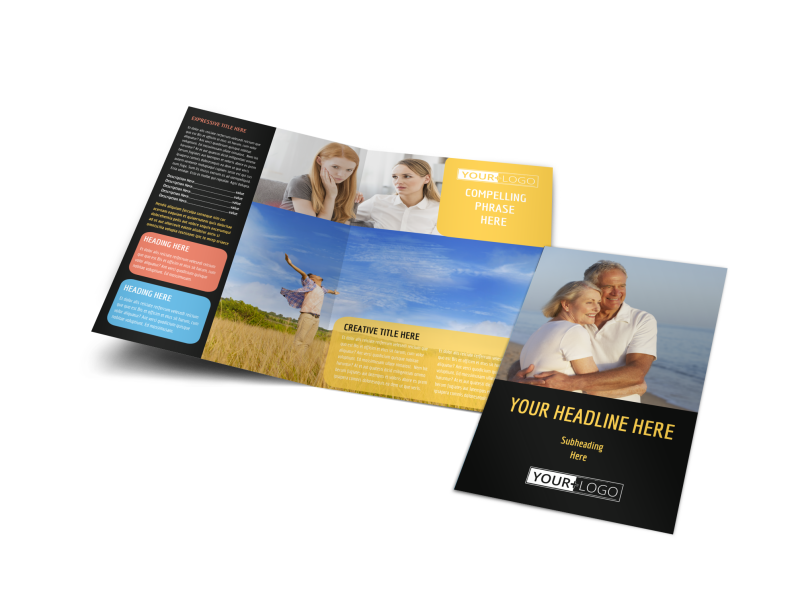 Mental Health Counseling Brochure Template Preview 1