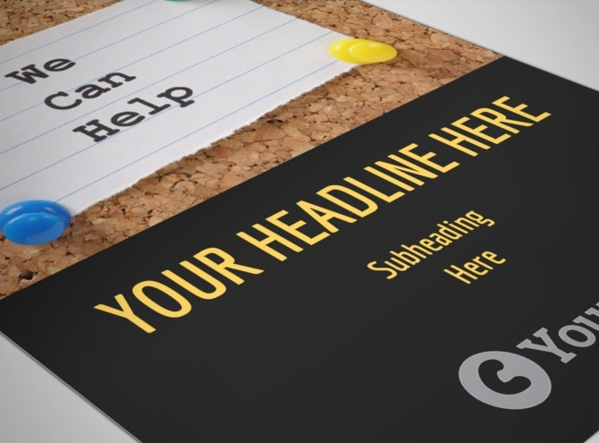 mental health counseling flyer template