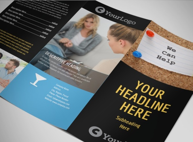 free mental health brochure templates - mental health counseling tri fold brochure template