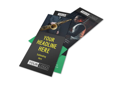 Jazz Music Event Flyer Template 2