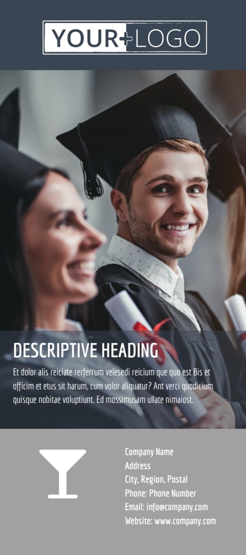 Tech University Flyer Template Preview 3