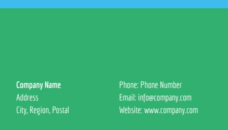 Summer Jazz Concert Business Card Template Preview 3