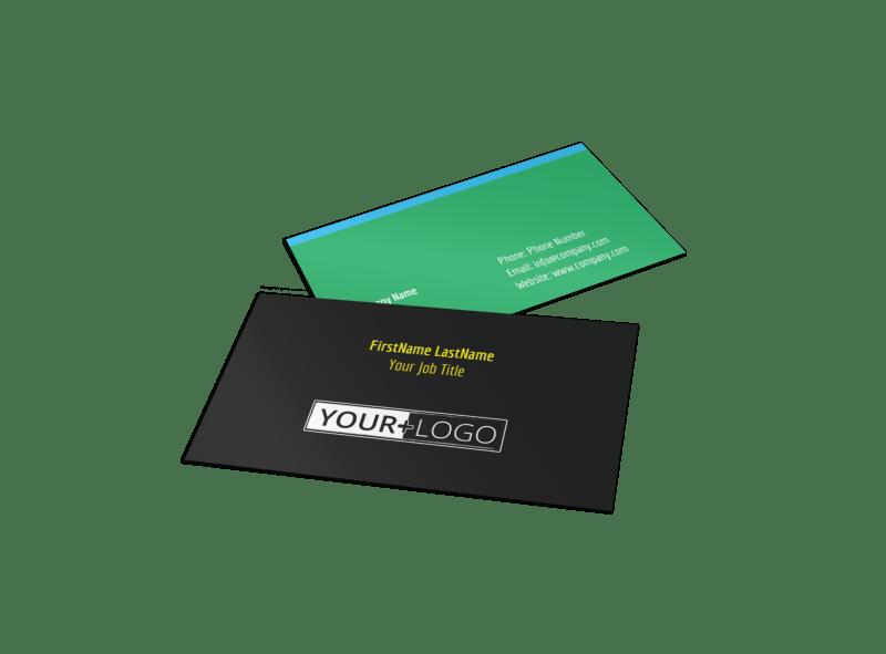 Summer Jazz Concert Business Card Template Preview 1