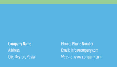 Mental Health Counseling Business Card Template Preview 2