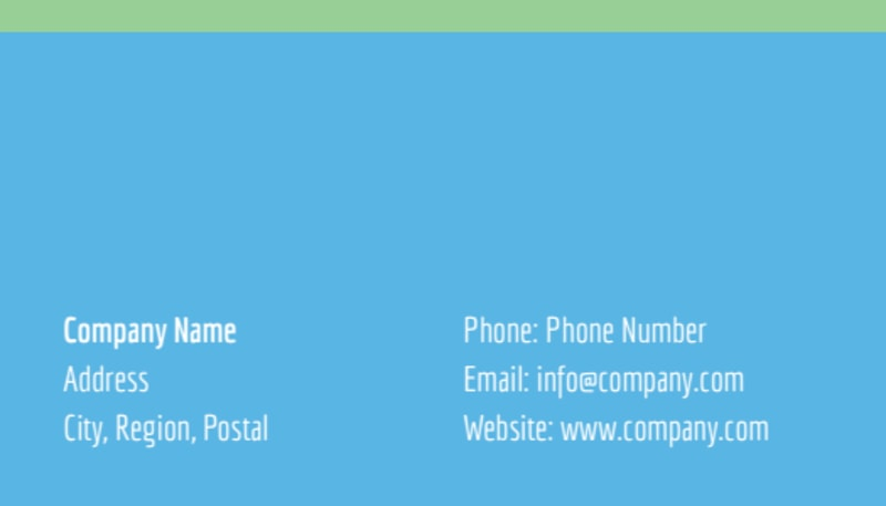 Mental Health Counseling Business Card Template Preview 3