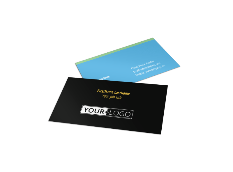 Mental Health Counseling Business Card Template Preview 1