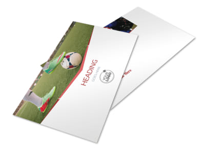 Sports Photography Postcard Template 2 preview