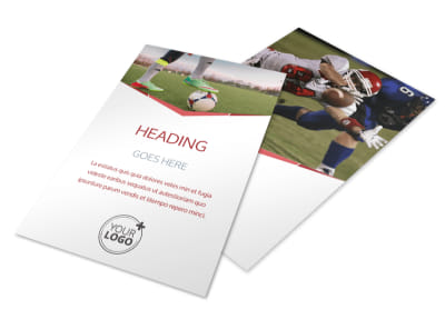 Sports Photography Flyer Template 3