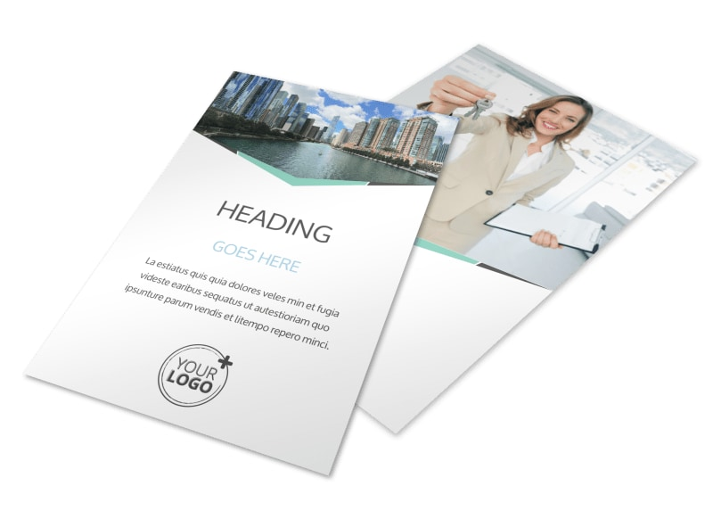 Top Commercial Real Estate Flyer Template 3