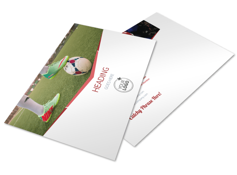 Sports Photography Postcard Template Preview 1