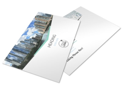 Top Commercial Real Estate Postcard Template preview