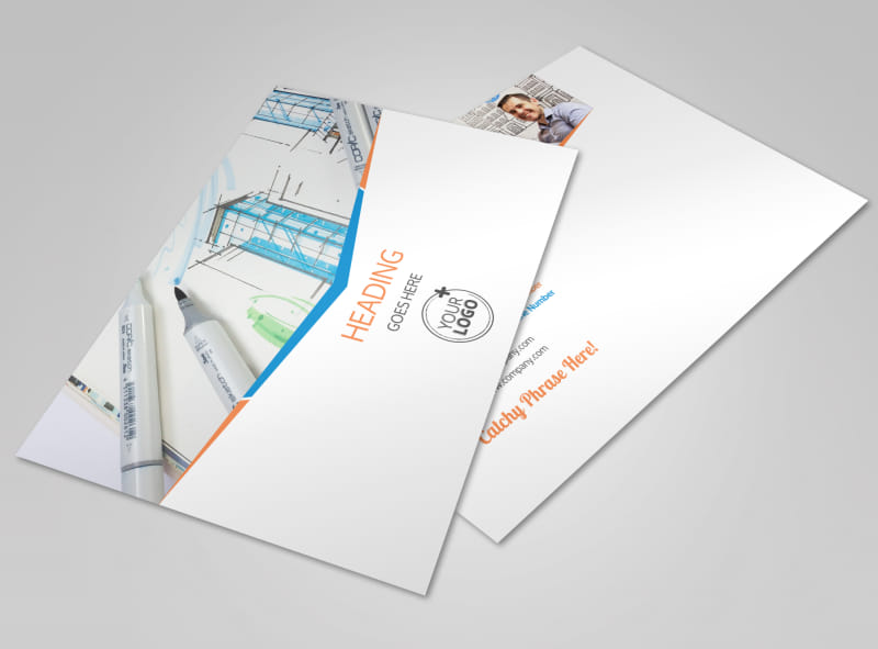 Graphic Design Bundle Postcard Template Preview 4