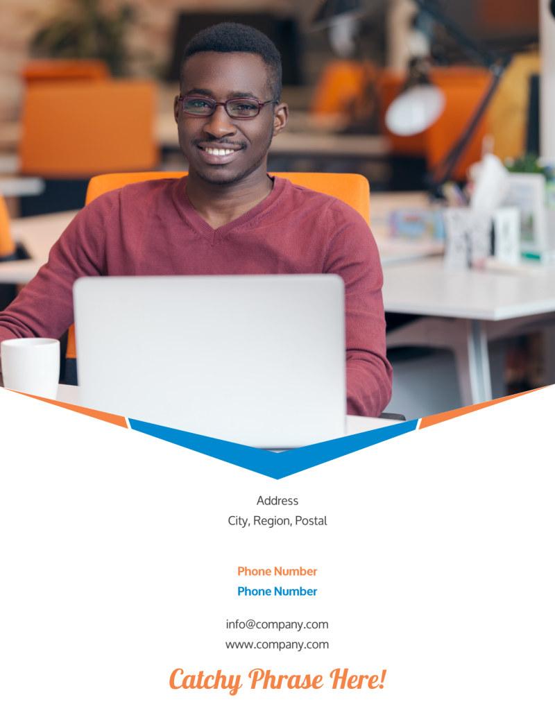 Graphic Design Bundle Flyer Template Preview 3