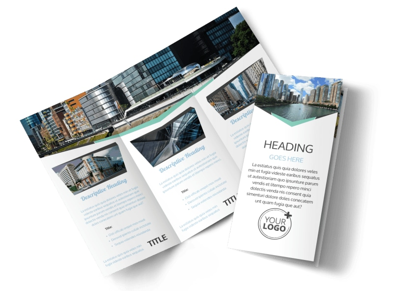 Top Commercial Real Estate Brochure Template  Mycreativeshop