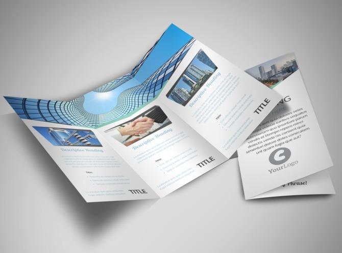 real estate tri fold brochure template - top commercial real estate tri fold brochure template