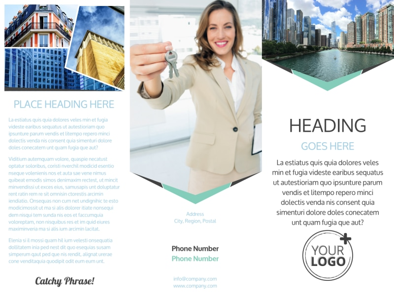 Top Commercial Real Estate Brochure Template Preview 2