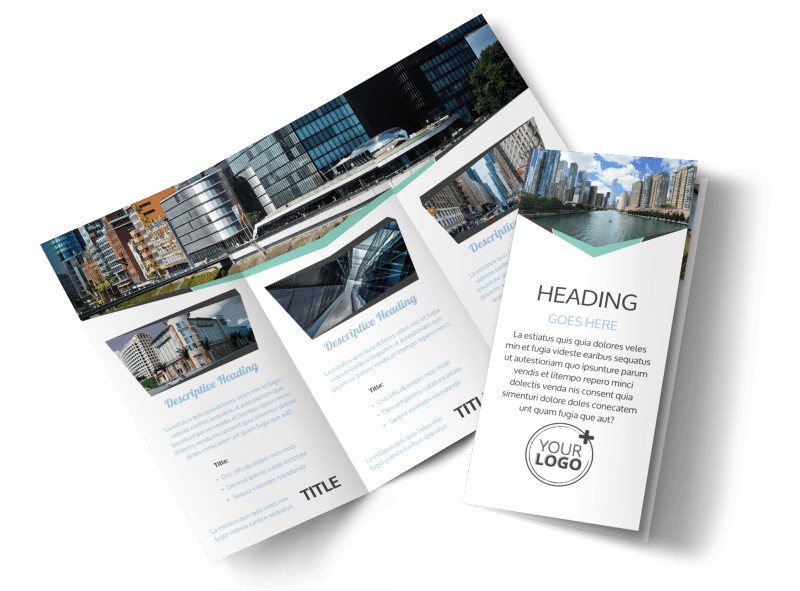 Top Commercial Real Estate Brochure Template Preview 1