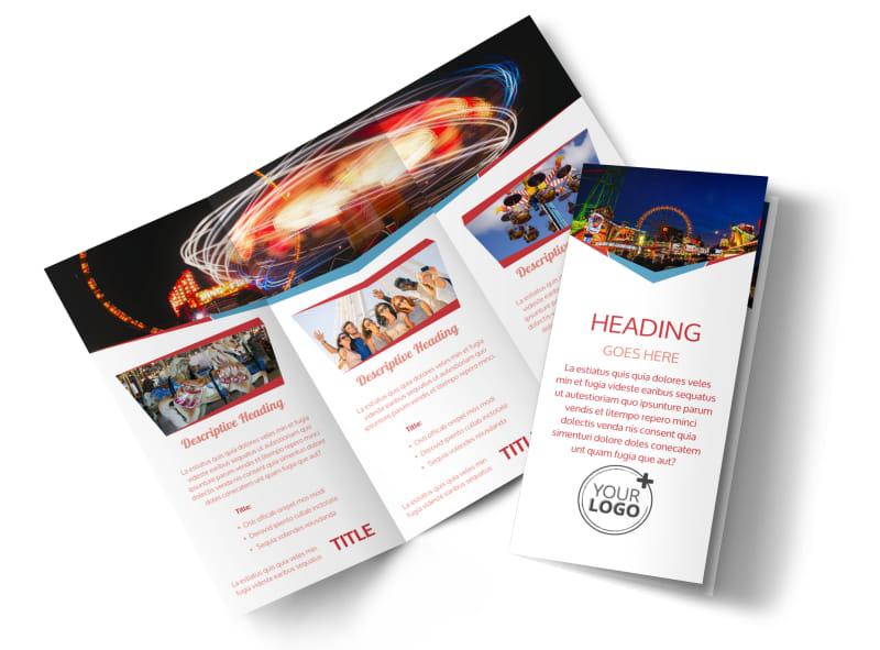 Amusement Park Bundle Brochure Template