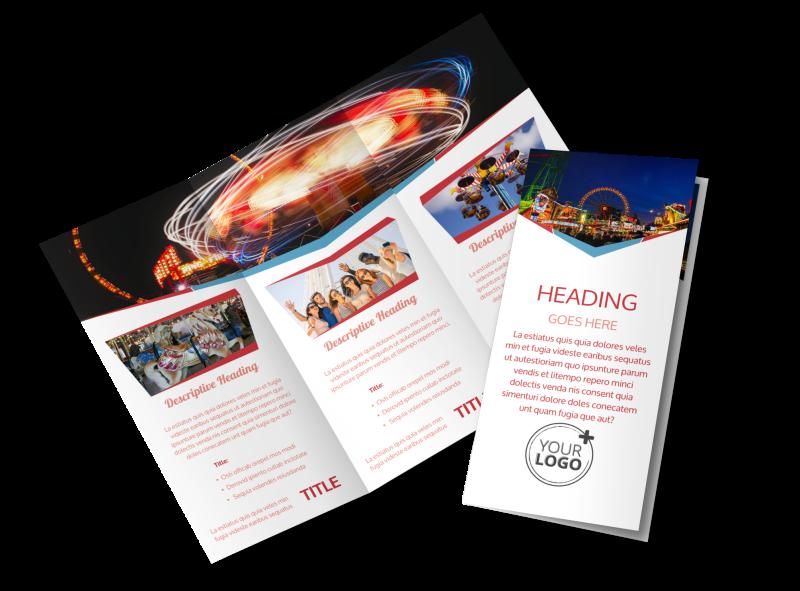 Amusement Park Bundle Brochure Template Preview 1