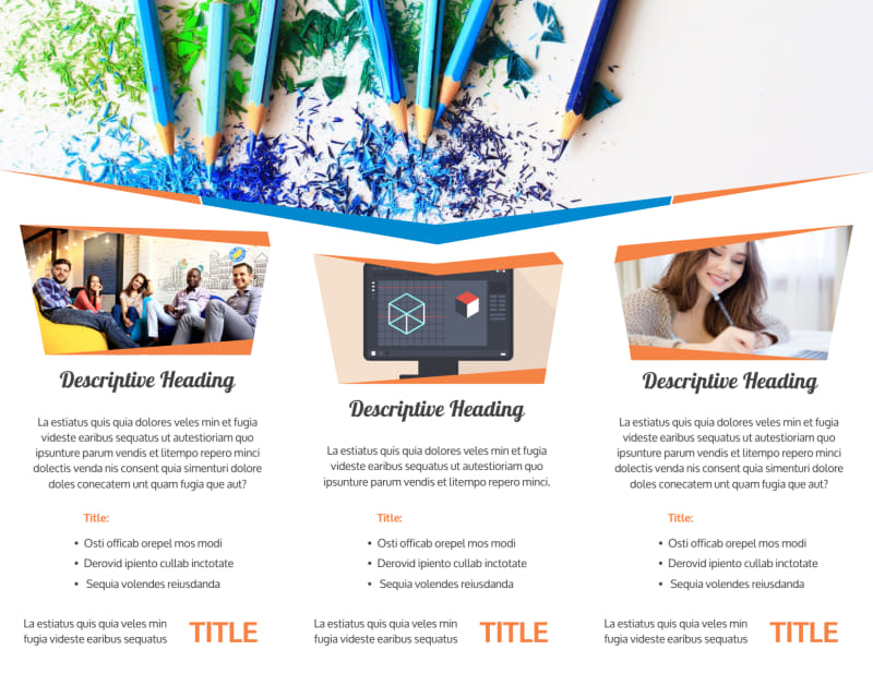 Graphic Design Bundle Brochure Template Preview 3