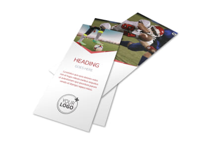 Sports Photography Flyer Template 2