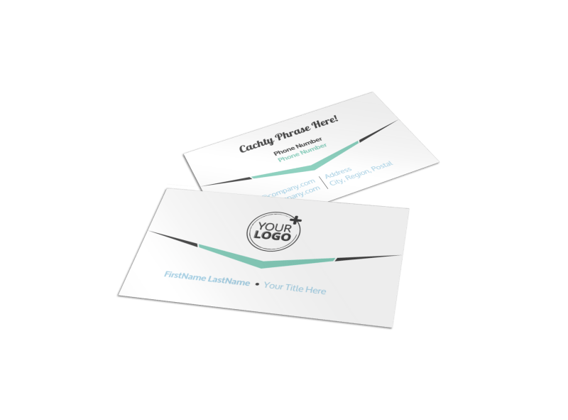 Cutting Edge Website Design Business Card Template Preview 1