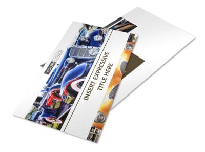 Elegant Car Show Postcard Template 2 preview