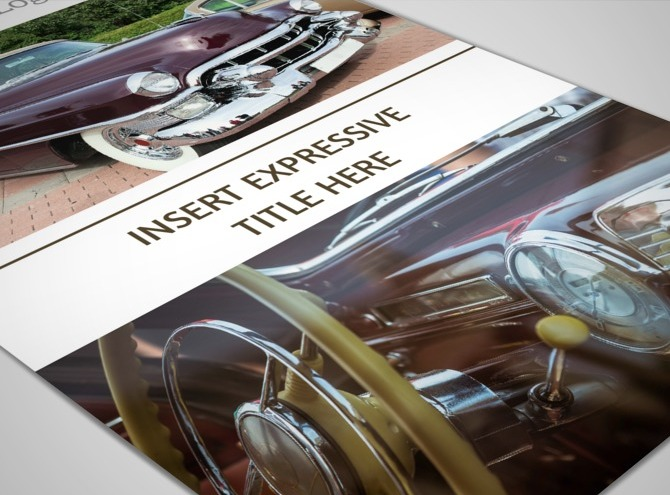 Blank Car Show Flyer Classic Car Event Flyer Car Event Design Event - Blank car show flyer