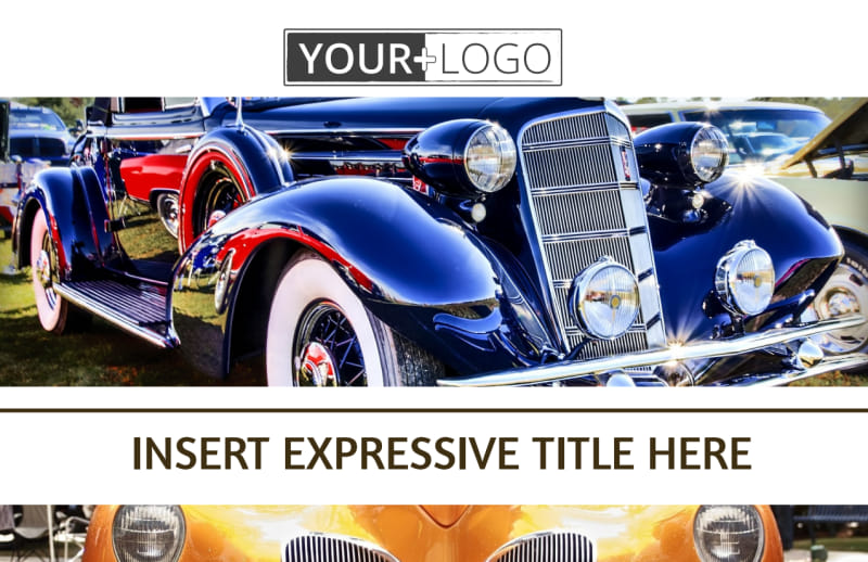 Elegant Car Show Postcard Template Preview 2