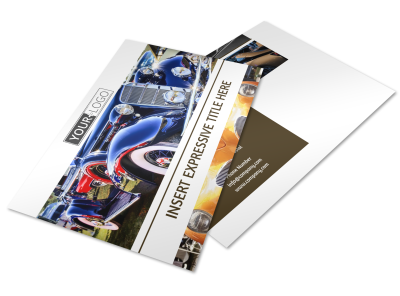 Car Show Postcards Template Preview