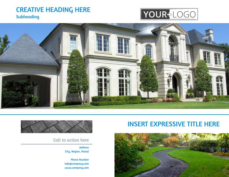 Beautiful Landscape Brochure Template Preview 2