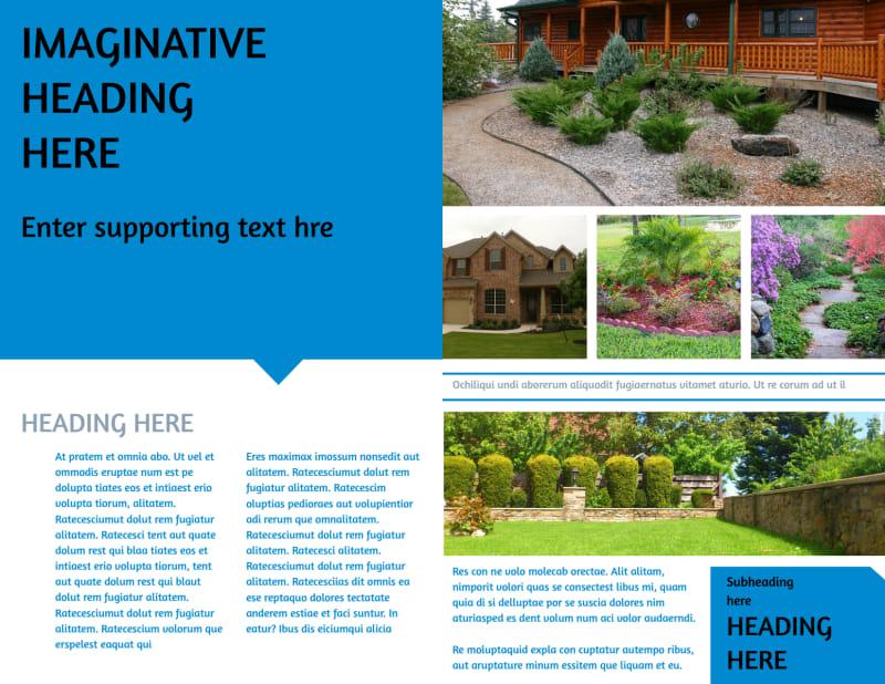 Beautiful Landscape Brochure Template Preview 3