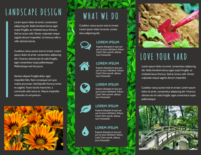 Beautiful Landscape Brochure Template Preview 3
