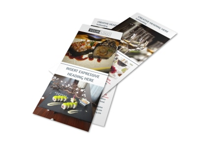 Fine Dining Restaurant Flyer Template 2 preview