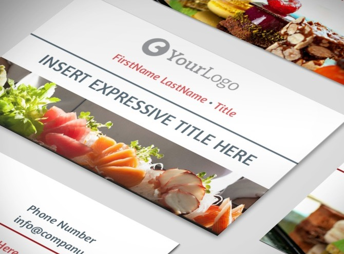 Restaurant Business Cards Samples Images & Pictures - Becuo