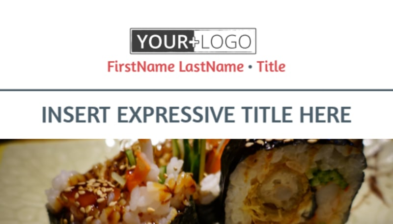Fine Dining Restaurant Business Card Template Preview 2