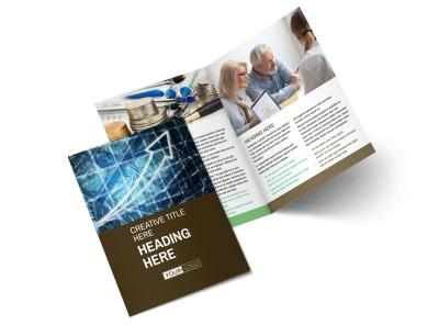 Financial Advisor Brochure Template 2 preview