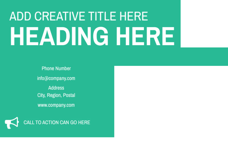 Financial Consultant Services Postcard Template Preview 3