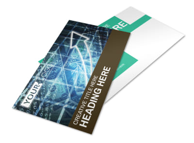 Financial Advisor Postcard Template 2 preview